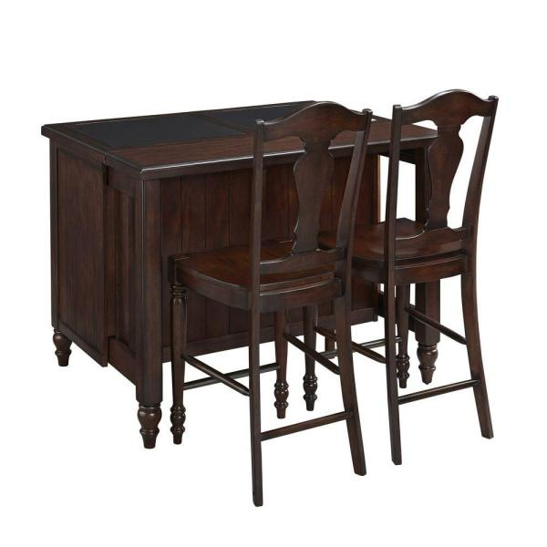 Country Comfort 24.5 in. Aged Bourbon Bar Stool