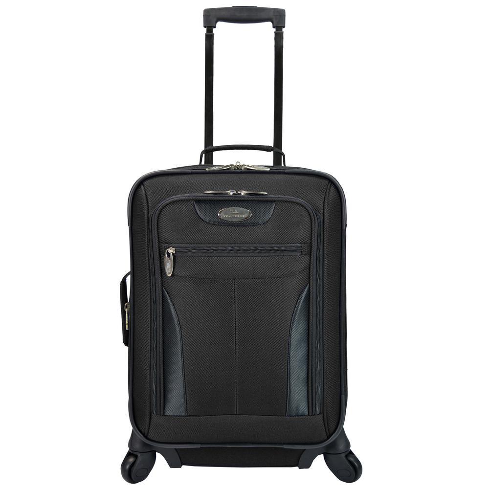 Charleville 20 in. Spinner Luggage, Black