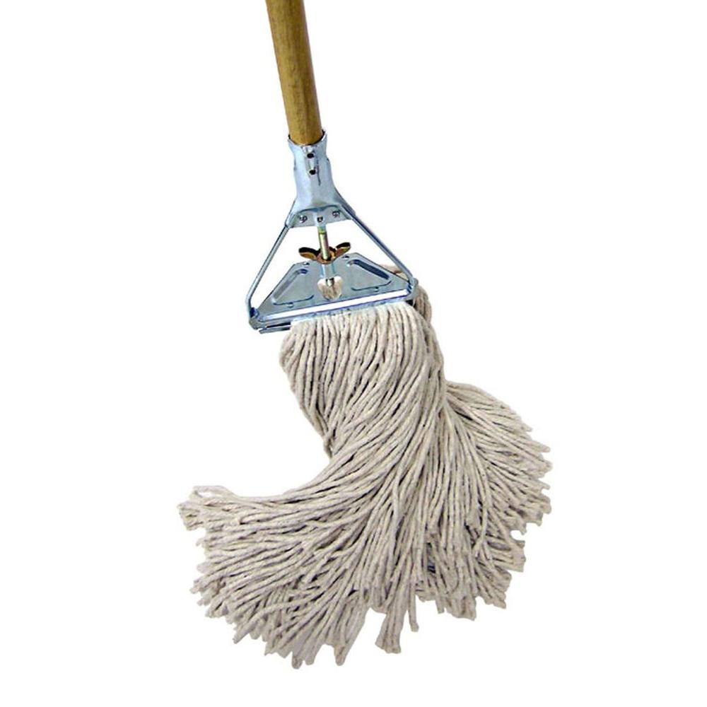 quickie professional 24 oz janitor wing nut mop 038 391t 4 the