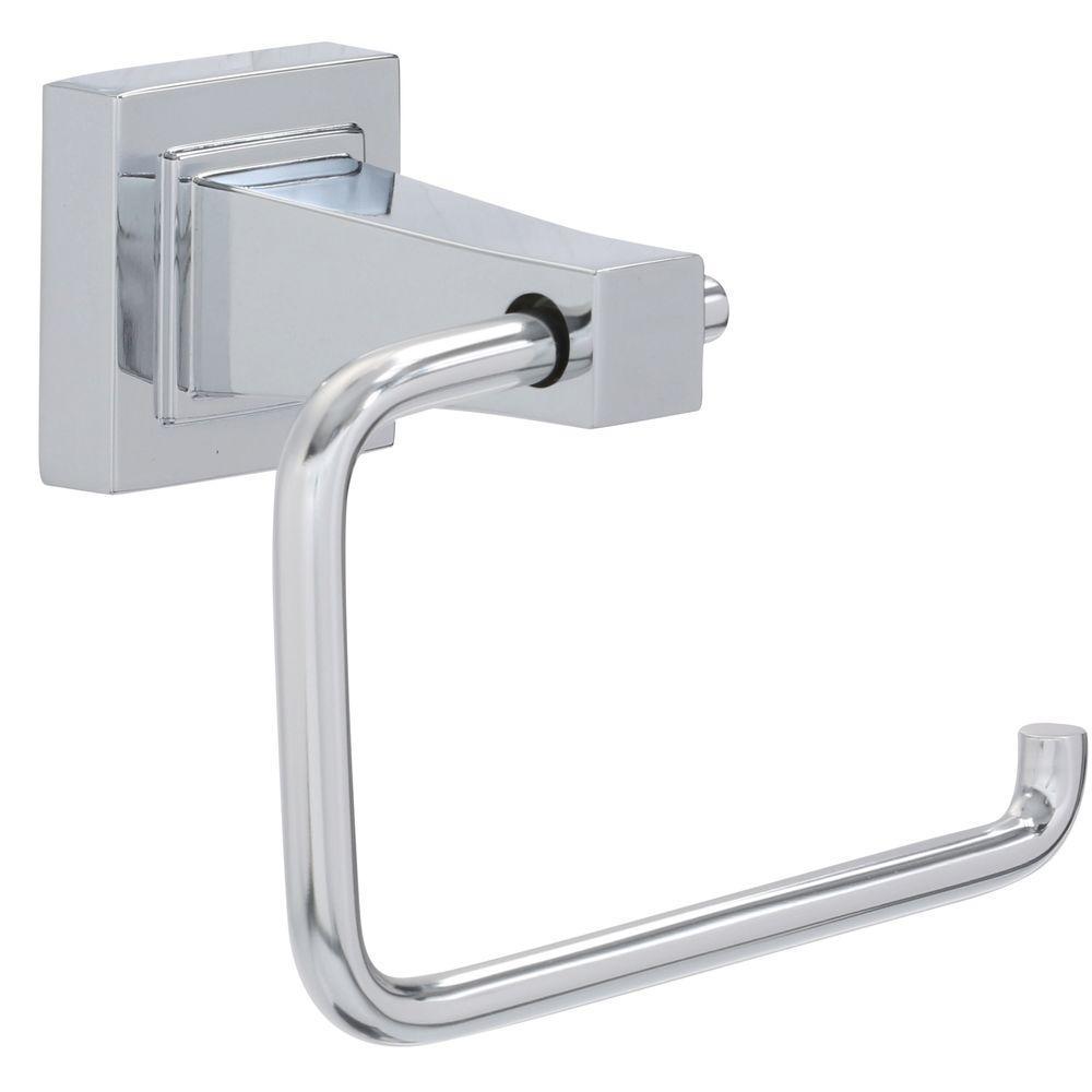 Adelyn Single Post Toilet Paper Holder in Chrome