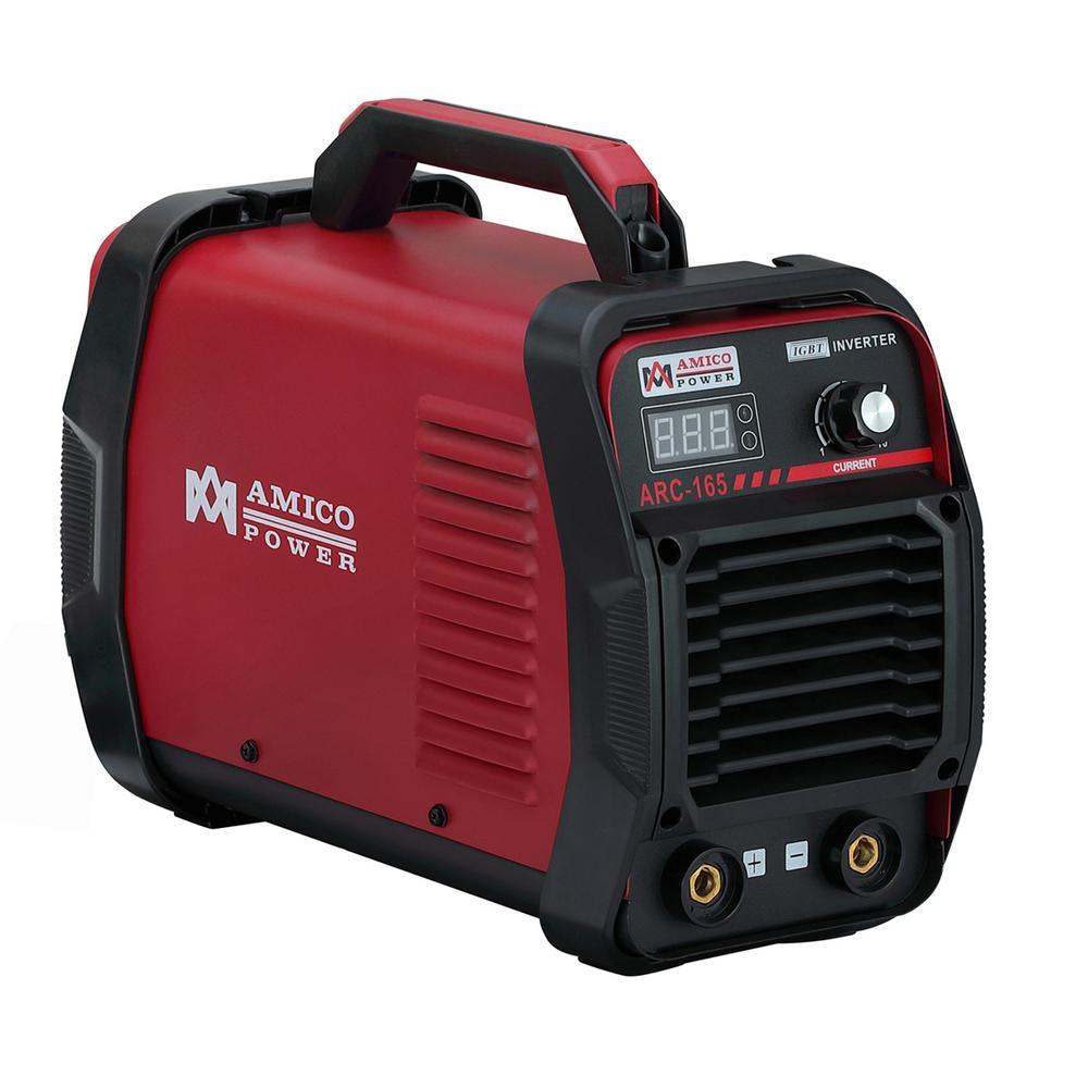 AMICO POWER Amico 160 Amp Stick arc MMA Inverter DC Welder 110-Volt and  230-Volt Dual Voltage Welding Machine New