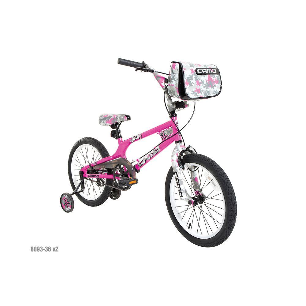 b4033009088 Dynacraft 18 in. Girls Camo Decoy Bike-8093-36TJI - The Home Depot