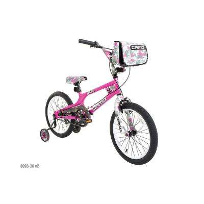 18 in. Girls Camo Decoy Bike