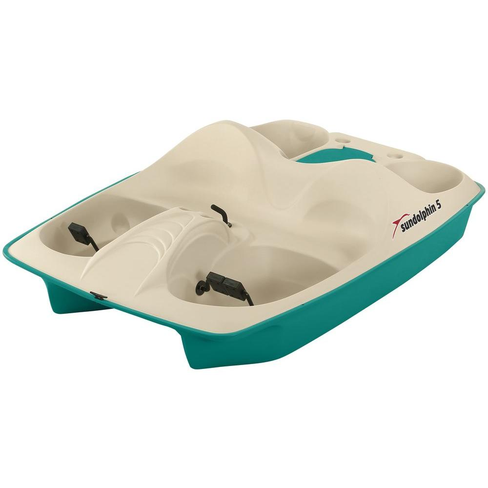 Sun Dolphin Stainless Steel 5-Person Pedal Boat
