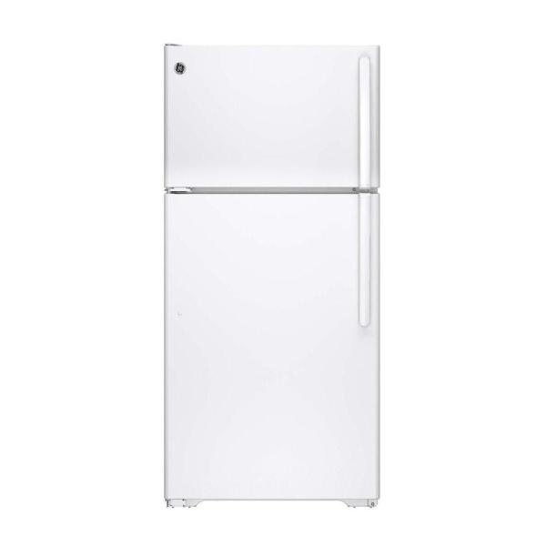 14.6 cu. ft. Top Freezer Refrigerator in White, ENERGY STAR