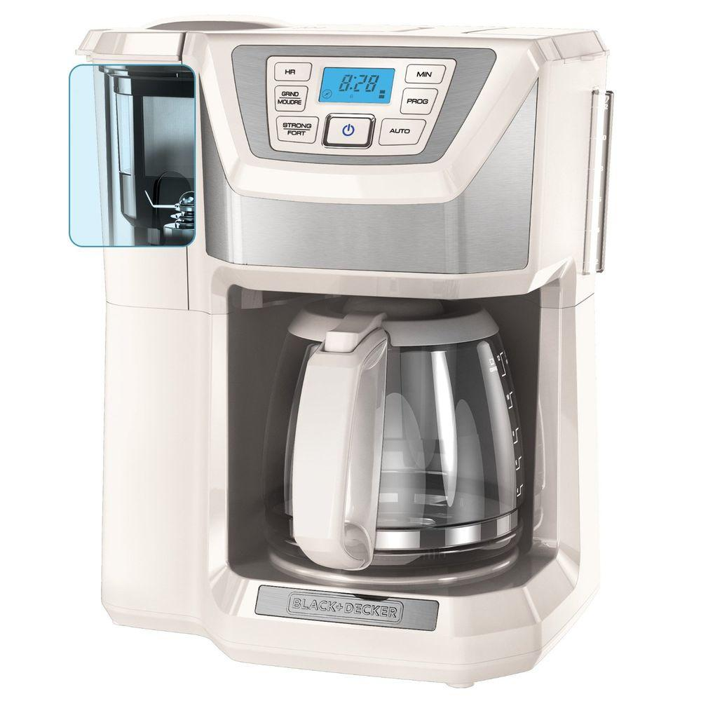 Black And Decker Coffee Maker Cm1300sc : BLACK+DECKER 12-Cup Coffee Maker-CM5000WD - The Home Depot