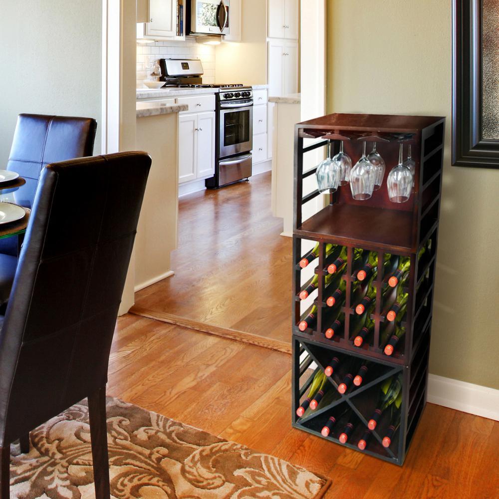 Stackable Wine Glass Rack