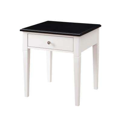 Regency White Side Table