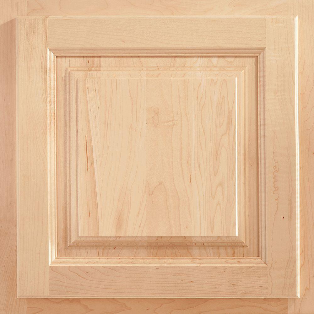 American Woodmark 13x12-7/8 in. Cabinet Door Sample in Newport Maple Natural