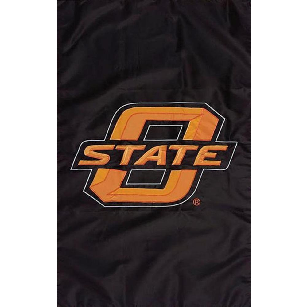 Evergreen Enterprises NCAA 12-1/2 in. x 18 in. Oklahoma State 2-Sided Garden Flag