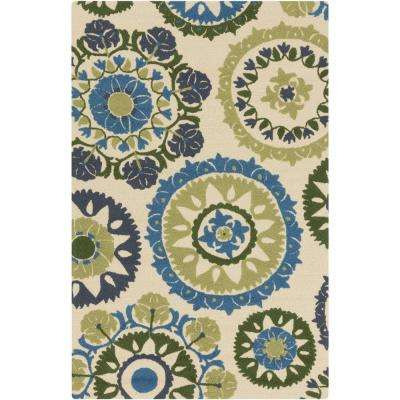 Wanniassa Beige 2 ft. x 3 ft. Indoor/Outdoor Area Rug