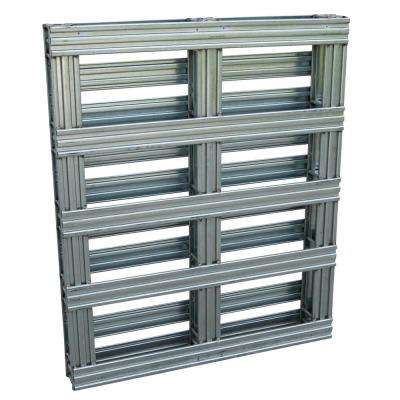 40 in. x 48 in. Galvanized Steel Pallet