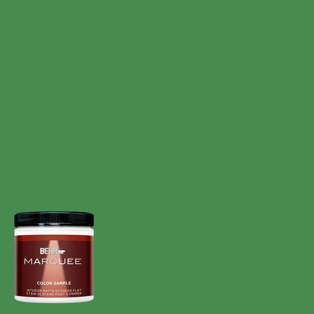 Mq4 48 Planet Green One Coat Hide Matte Interior Exterior Paint And Primer In Sample