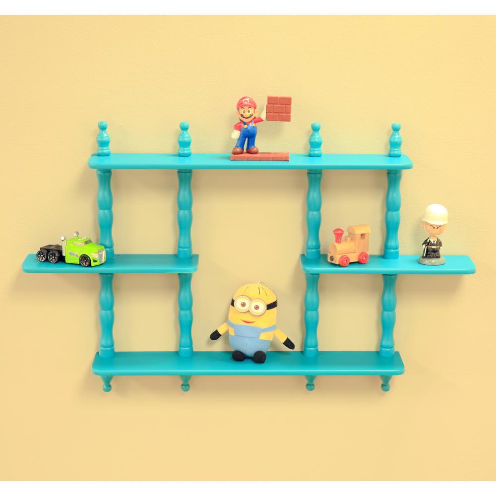 3.5 in. D x 17-1/7 in. W Wall Mounted Decorative Shelf