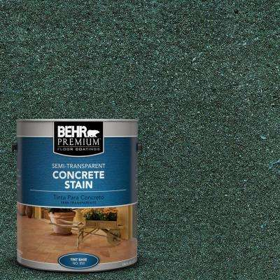 1 gal. #STC-34 Smokey Patina Semi-Transparent Interior/Exterior Concrete Stain