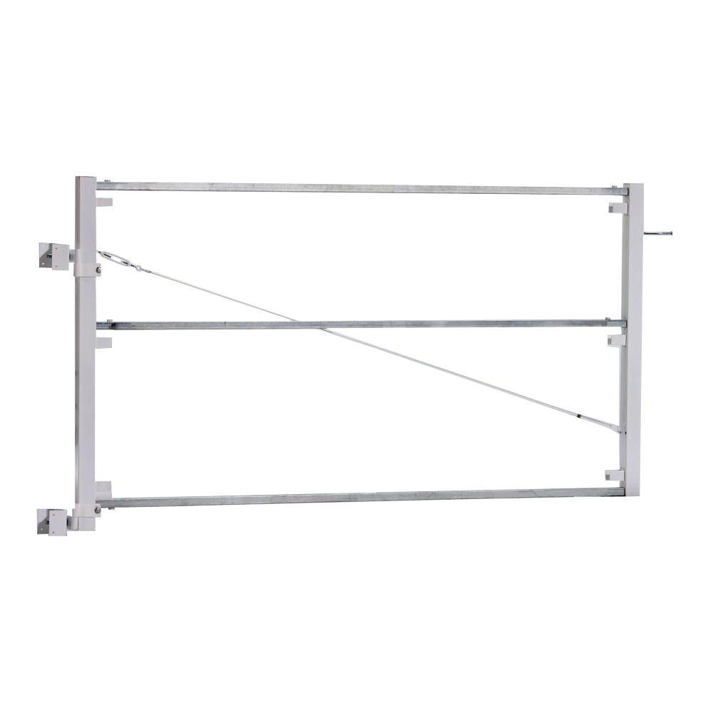 Adjust-A-Gate Ranch Style 3-Rail Fence Gate Frame Kit-AG 23006 - The ...