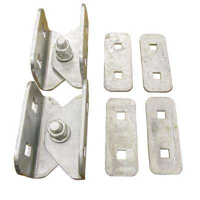 2 in. x 6 in. Heavy Duty Floating Dock Hinge Kit