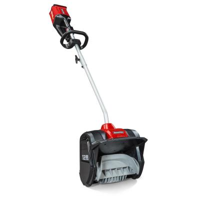 XD 82-Volt MAX Cordless Electric Snow Shovel Kit w/ 12 in. Clearing Width, Includes (1) 2.0 Battery & (1) Rapid Charger