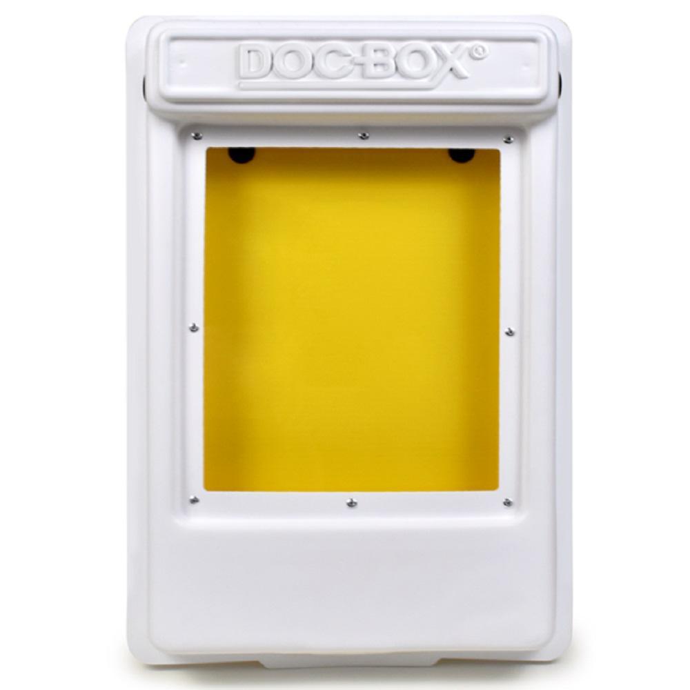 11.5 in. x 18.5 in. x 4 in. Outdoor/Indoor Smaller Posting Permit Box Unit with Window