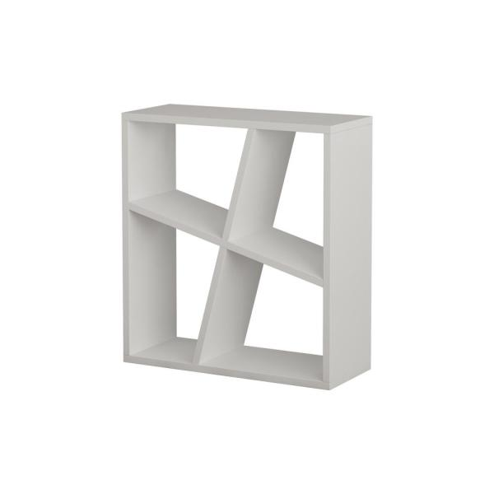 Ada Home Decor Sada White Modern Side Table DCRS2071