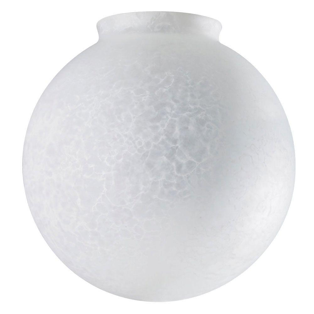 Westinghouse 6 in. Handblown Cloudy Frosted Globe with 3-1/4 in. Fitter