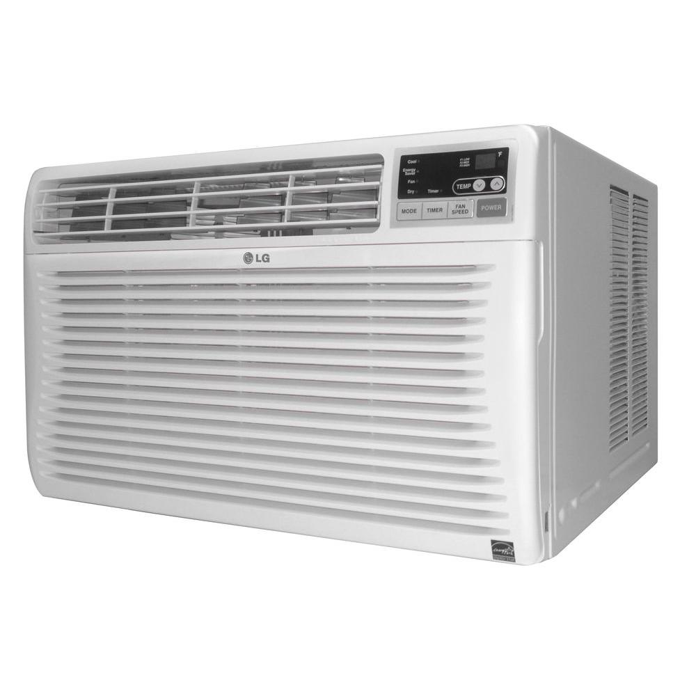 LG Electronics 12,000 BTU 115v Window Air Conditioner with Remote