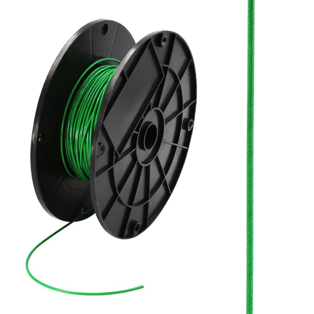 1/16 in. x 250 ft. Galvanized Vinyl Coated Steel Wire Rope