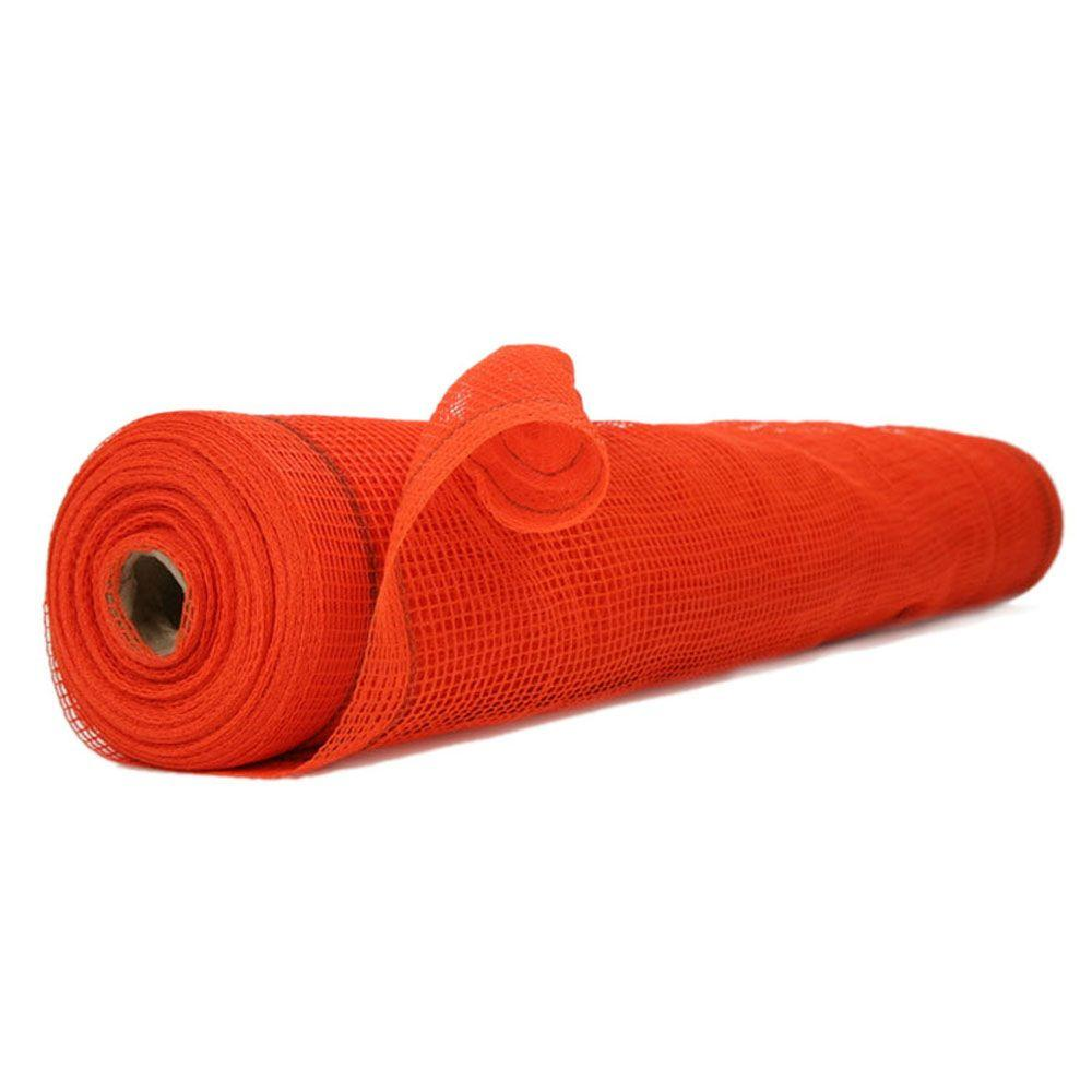 8.6 ft. x 150 ft. Orange Fire Resistant SafetyShield Netting