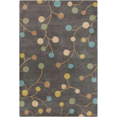 Amicia Gray 9 Ft X 12 Indoor Area Rug