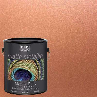 1 gal. Copper Penny Water-Based Matte Metallic Interior Paint