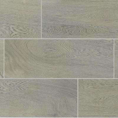 Glenwood Fog 7 in. x 20 in. Ceramic Floor and Wall Tile (10.89 sq. ft. / case)