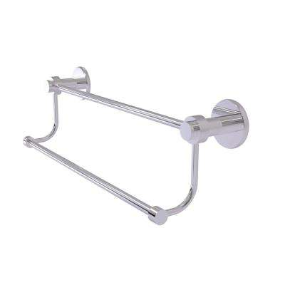 Mercury Collection 18 in. Double Towel Bar in Polished Chrome