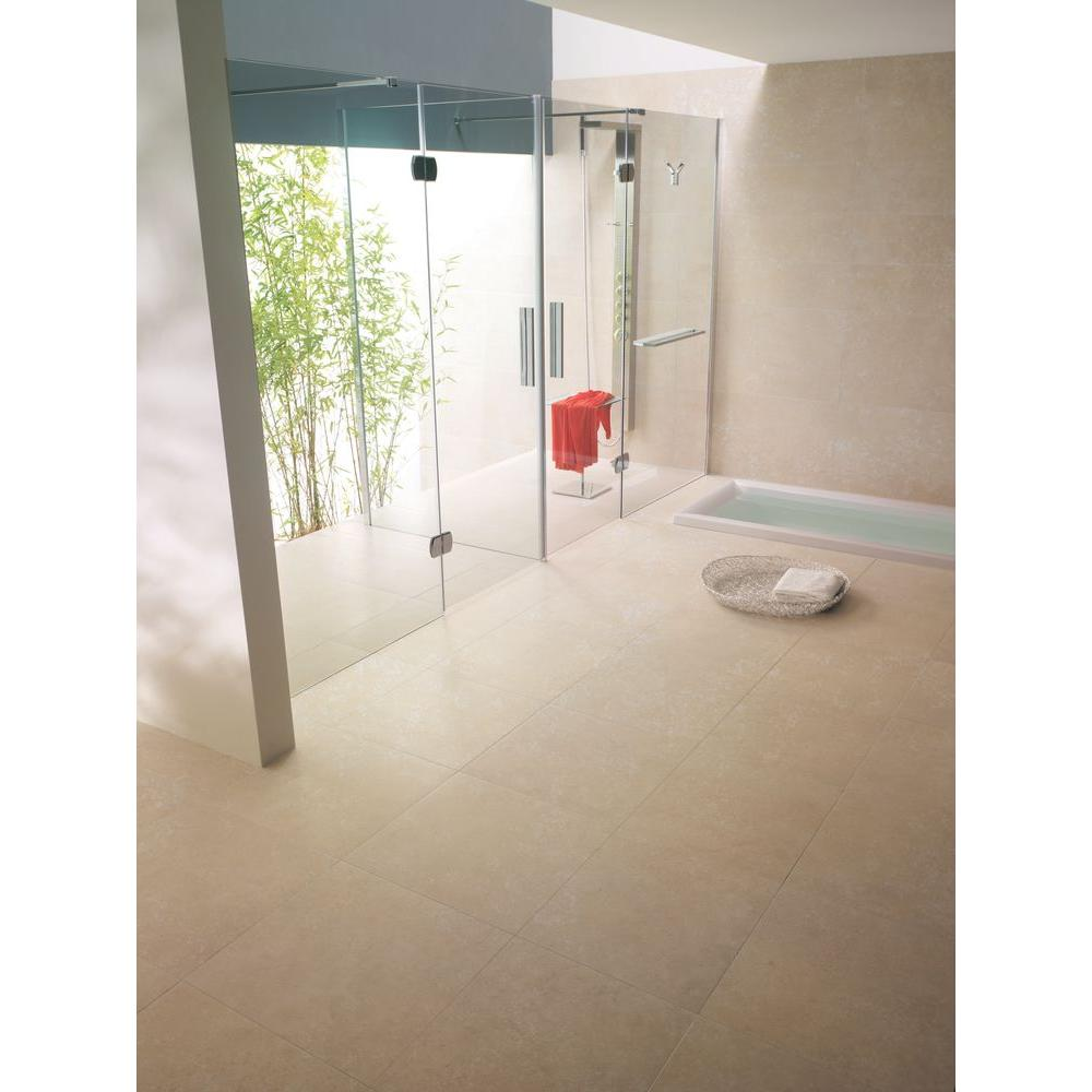 MSI Ivory 12 in. x 12 in. Honed Travertine Floor and Wall Tile (5 sq. ft. /  case)