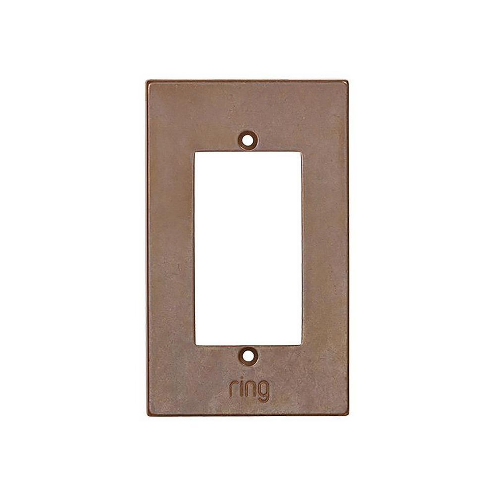 Wired Video Door Bell Elite Silicon Bronze Medium Faceplate