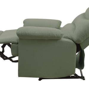 Groovy Venetian Worldwide Arcadia Sage Green Microfiber Recliner Va Gmtry Best Dining Table And Chair Ideas Images Gmtryco