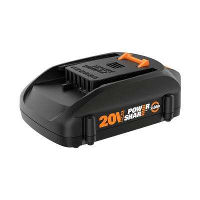 20-Volt 2.0 Ah Max Lithium-Ion Battery