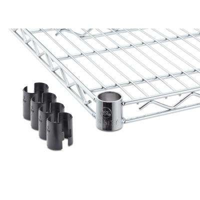 60 in. x 24 in. Individual Chrome NSF Wire Shelf