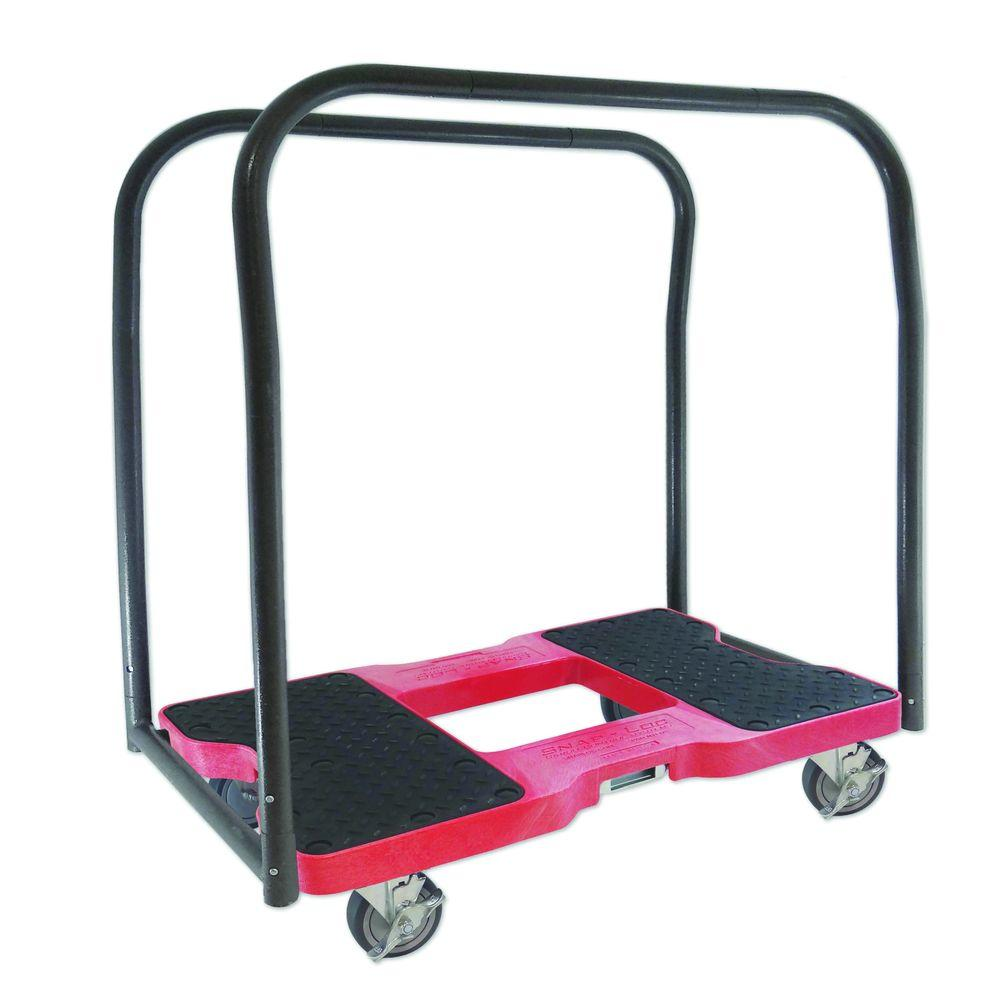 1,500 lb. Capacity Panel Cart Dolly in Red