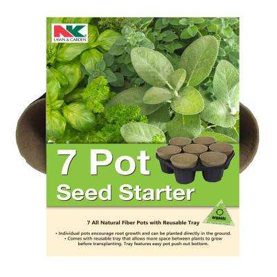 NK 7 Pot Seed Starter Kit