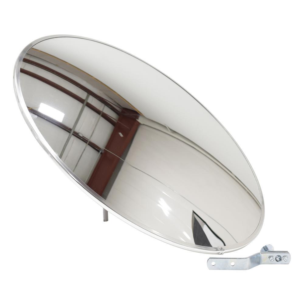 Vestil 26 in. Industrial Round Acrylic Mirror