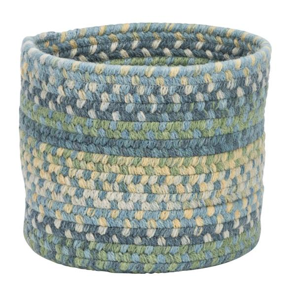Colonial Mills Acre Small Space Wool Basket Morning Dew 10 in.