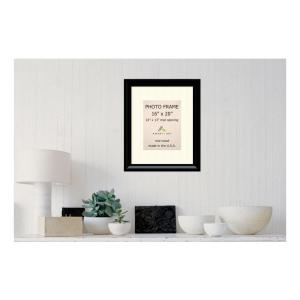 Amanti Art Steinway 10 inch x 13 inch White Matted Black Picture Frame by Amanti Art