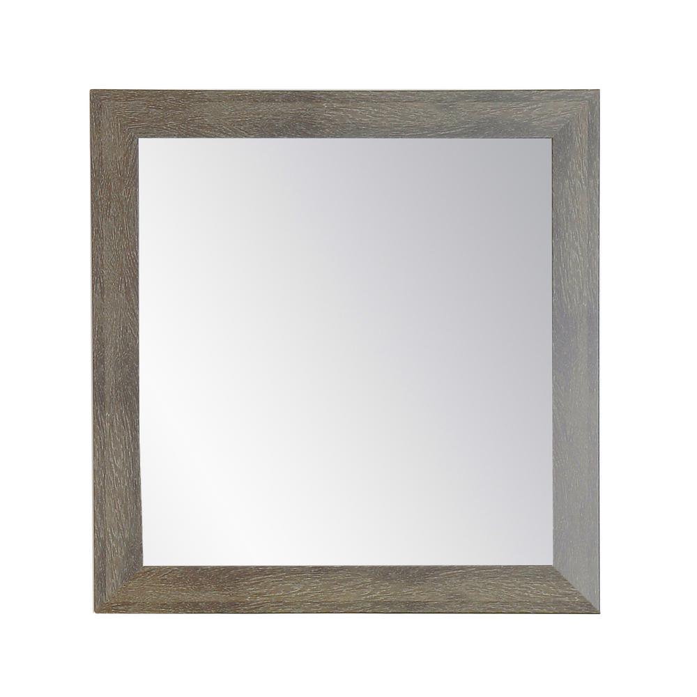 Farmhouse Olive Accent Mirror