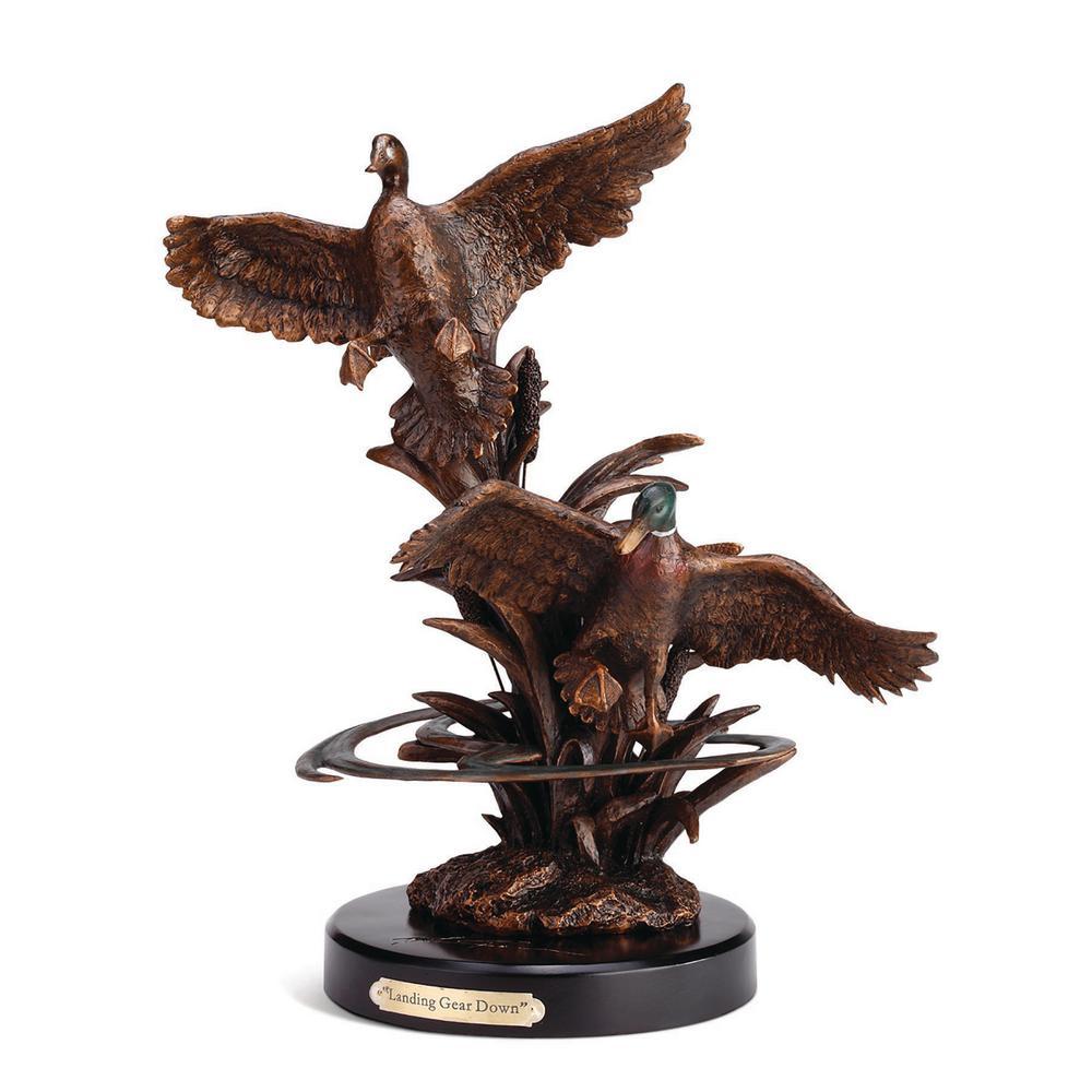Landing Gear Down Mallards Sculpture