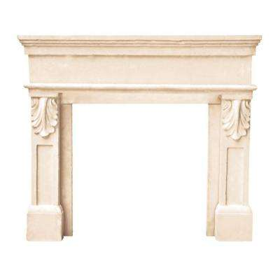 Designer Series Paris 47 in. x 53 in. Cast Stone Mantel