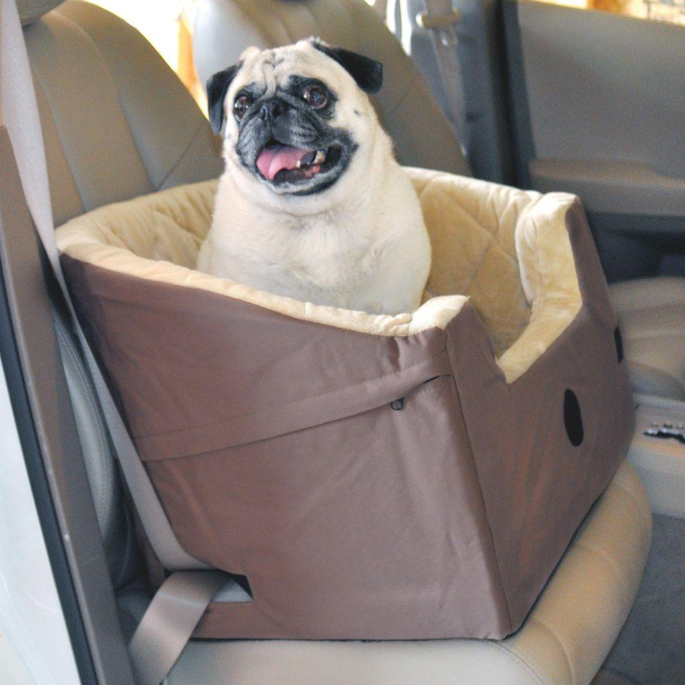 K&H Pet Products Bucket Booster Large Tan Pet Car Seat-7631 - The ...