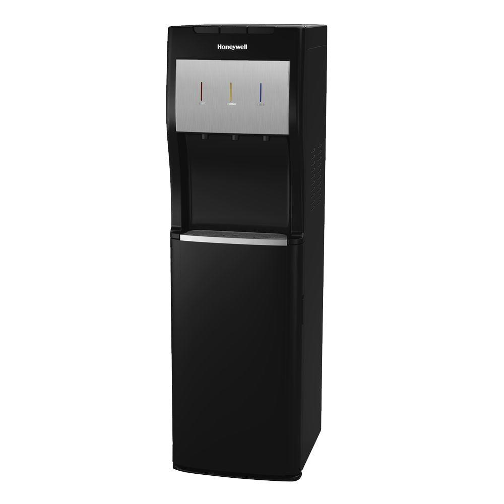 Freestanding Bottom-Loading Hot/Room/Cold Water Dispenser with Superior Water
