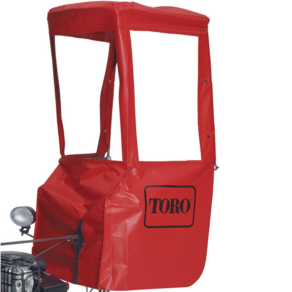 Toro Two-Stage Snowblower Operator Cab Enclosure-DISCONTINUED