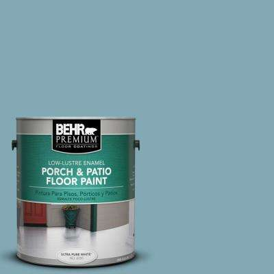 1 gal. #S450-4 Crashing Waves Low-Lustre Porch and Patio Floor Paint