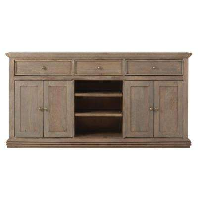 Exceptionnel Aldridge Antique Grey Buffet